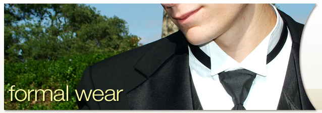 Rochester Tuxedos- Formal Wear banner image