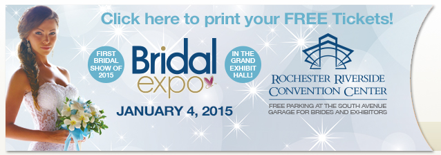 Bridal Expo January 4, 2015
