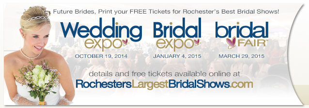 Rochester's favorite bridal shows