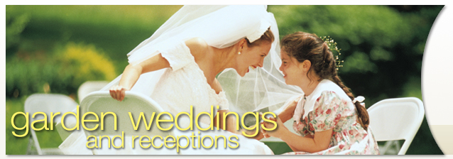 Rochester Garden Weddings and Receptions banner image