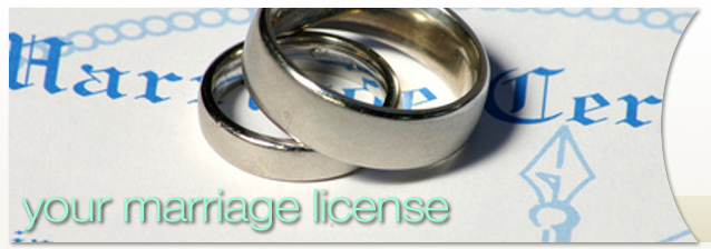 Your Rochester Marriage License banner image
